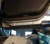 Rustbeskyttelse Sprøyting av dør